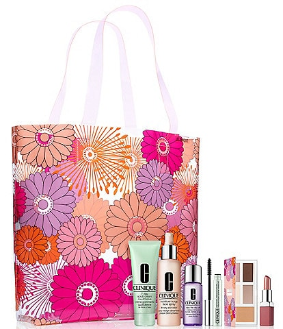 Clinique Beauty In Bloom Summer Essentials 29.50 with any Clinique purchase. A 161 value