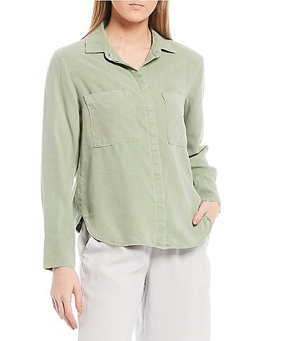 Cloth & Stone Two Pocket Button Down Shirt