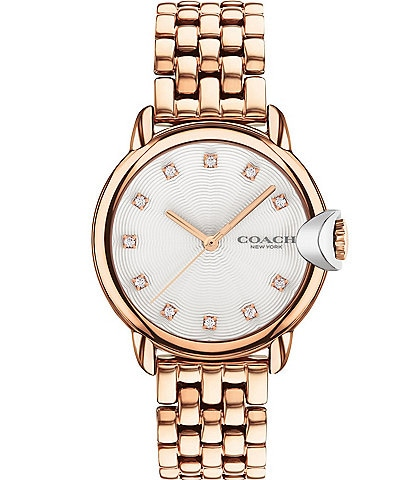 COACH Arden Rose Gold Bracelet Watch