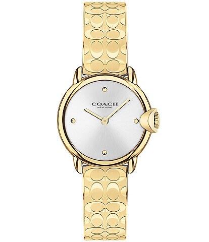 COACH Arden Signature Gold Bracelet Watch