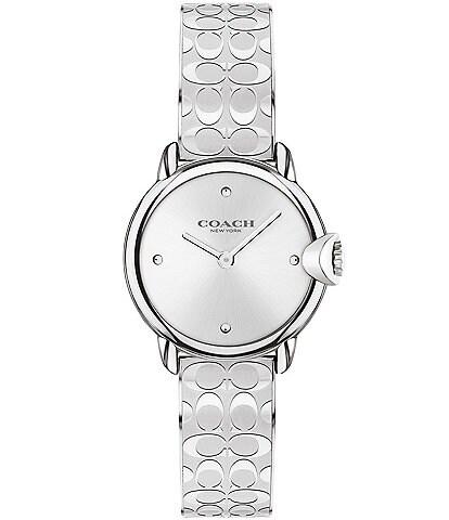 COACH Arden Signature Silver Bracelet Watch