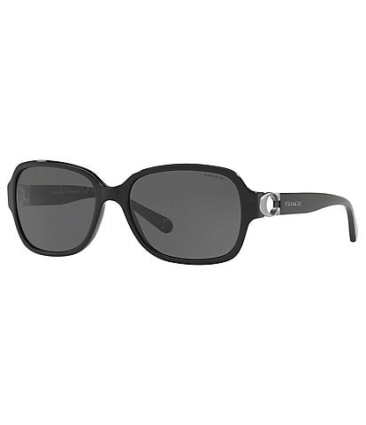 COACH Bombe C Rectangle Sunglasses