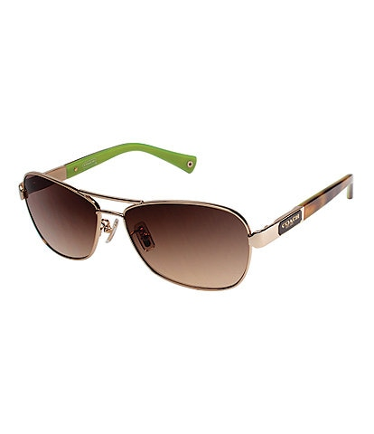 COACH Caroline Square Sunglasses