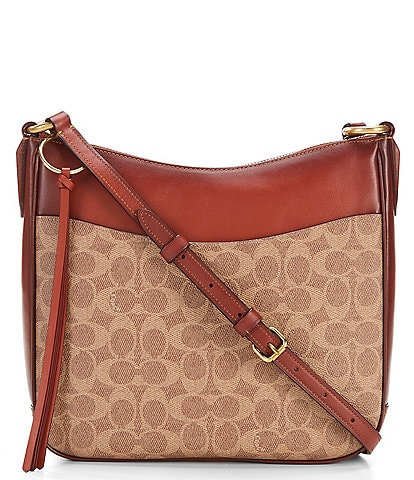 COACH Chaise Signature Canvas Crossbody Bag