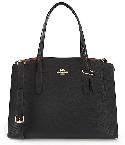 COACH Charlie Leather Carryall Bag