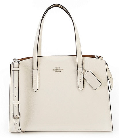 COACH Charlie Leather Carryall