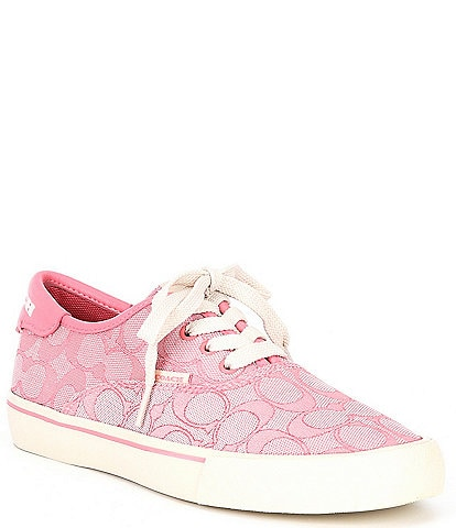 COACH Citysole Skate Logo Print Lace-Up Sneakers