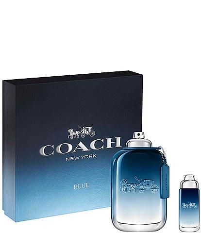 COACH Coach Blue 2 Piece Jumbo Gift Set
