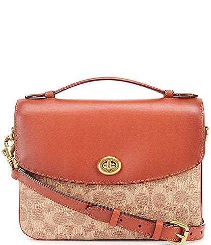 1dfc60686fd COACH Coated Canvas Signature Cassie Crossbody. color swatch