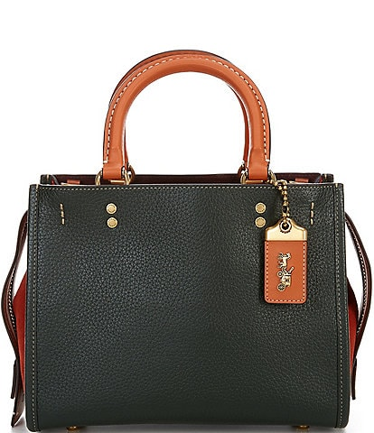 COACH Colorblock Leather Rogue 25 Shoulder Bag