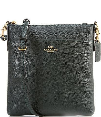 COACH Crossgrain Leather Messenger Crossbody Bag