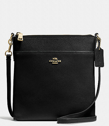 COACH Crossgrain Leather Messenger Crossbody Bag