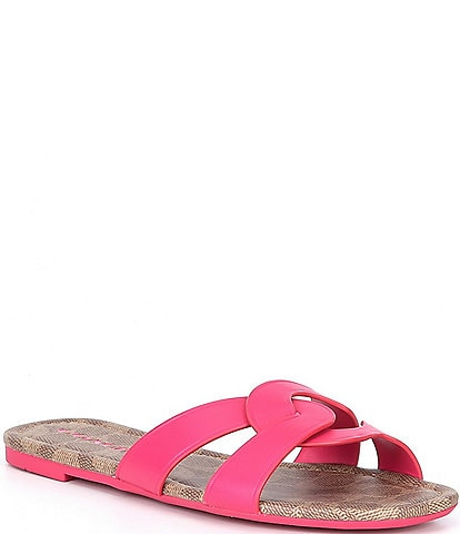 COACH Essie Leather Sandals