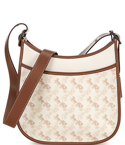 COACH Horse and Carriage Coated Canvas Emery Crossbody Bag