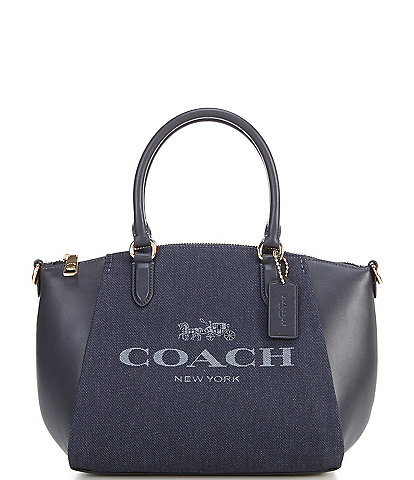 COACH Horse and Carriage Elise Satchel Bag