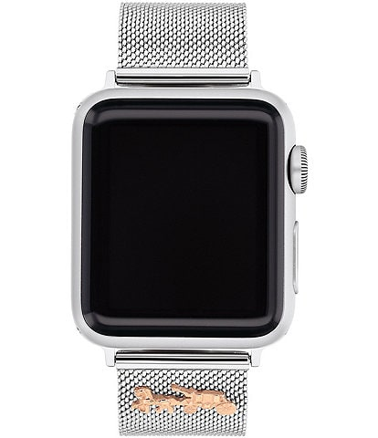 COACH Horse and Carriage Mesh 38/40mm Bands for Apple Watch®