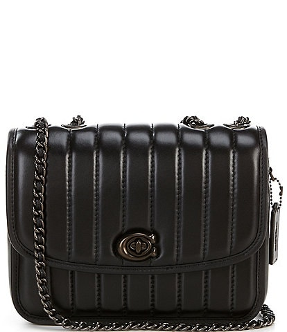 COACH Madison Quilted Leather Shoulder Bag