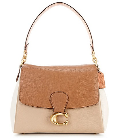 COACH May Colorblock Shoulder Bag