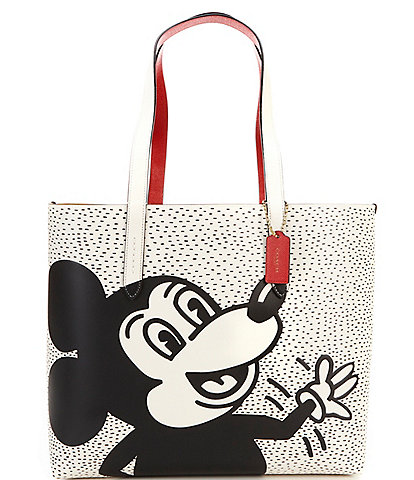 COACH Disney Mickey Mouse x Keith Haring Highline Tote Bag