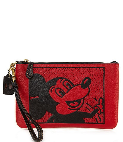 COACH Mickey Small Wristlet