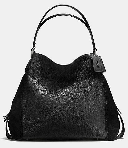 Coach Mixed Leathers Edie 42 Shoulder Bag