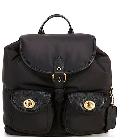 COACH Nylon Cargo Backpack