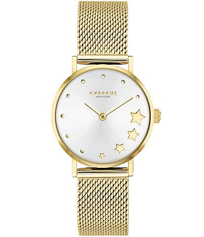 COACH Perry Mesh Bracelet Watch