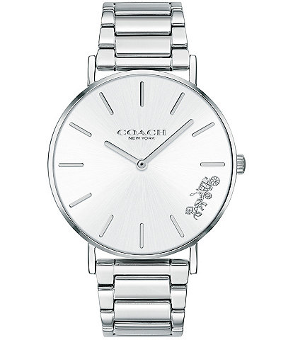 COACH Perry Stainless Steel Bracelet Quartz Analog Watch