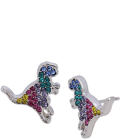 COACH Rexy Swarovski Crystal Stud Earrings