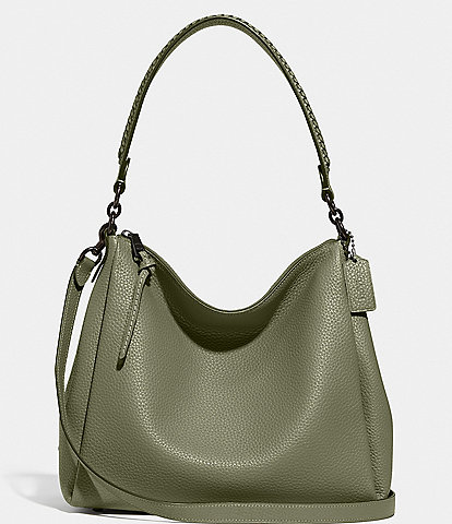 COACH Shay Whipstitch Detail Shoulder Bag