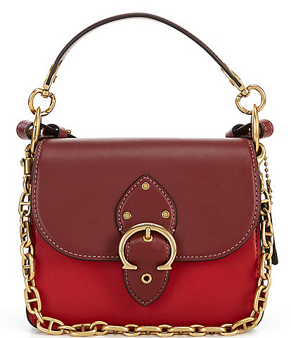 COACH Signature Beat Colorblock Shoulder Bag