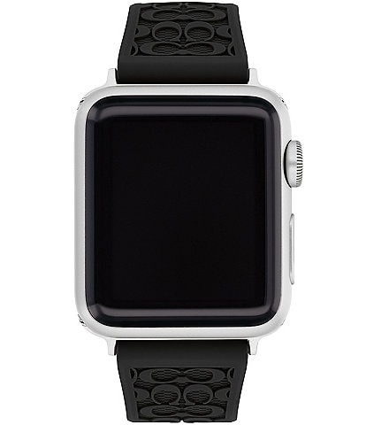 COACH Signature Black 38/40mm Bands for Apple Watch®