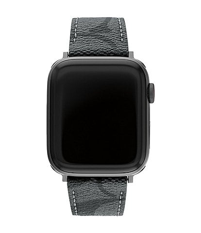 COACH Signature Canvas 42/44mm Bands for Apple Watch®