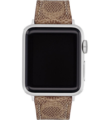 COACH Signature Canvas 38/44mm Band for Apple Watch®