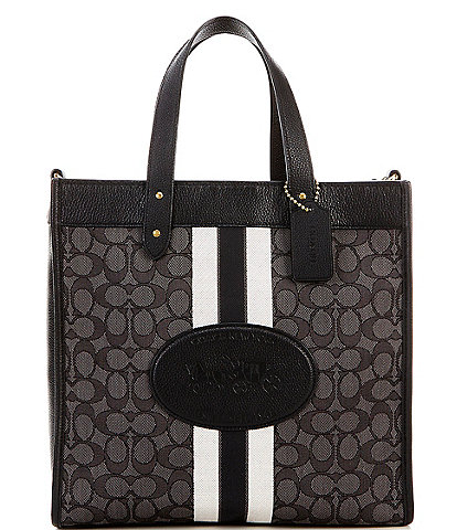 COACH Signature Horse and Carriage Field Tote Bag