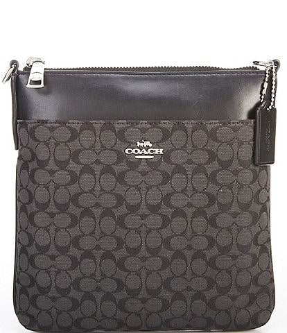 COACH Signature Jacquard Kitt Crossbody Bag