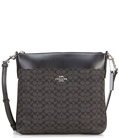 COACH Signature Kitt Messenger Bag