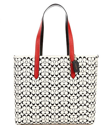 COACH Signature Disney Mickey Mouse x Keith Haring Tote Bag