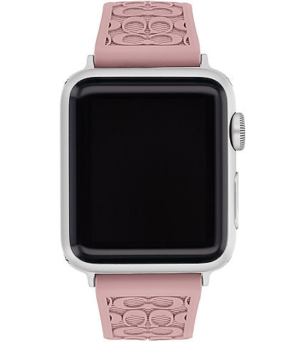 COACH Signature Pink 38/40mm Bands for Apple Watch®