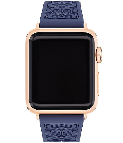 COACH Signature Purple 38/40mm Bands for Apple Watch®