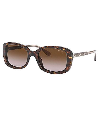 COACH Signature Rectangle Sunglasses