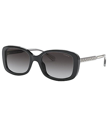 COACH Signature Rectangle Sunglasses