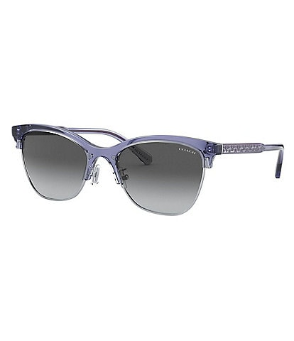 COACH Signature Retro Clubmaster Sunglasses