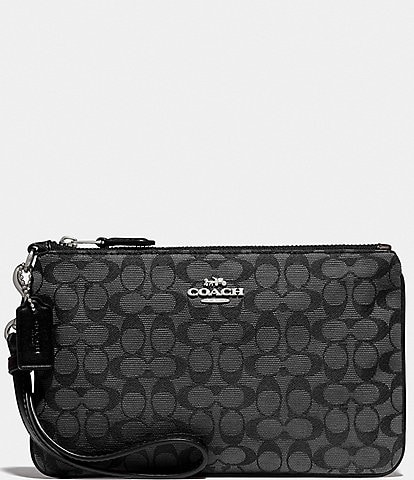 COACH Signature Small Wristlet