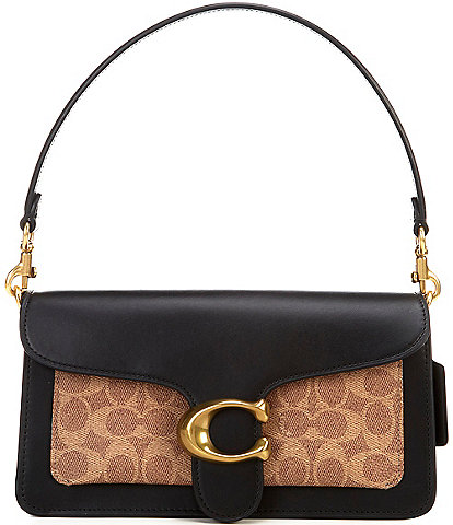 COACH Signature Tabby Shoulder Bag