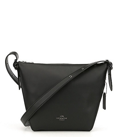 COACH Small Smooth Leather Crossbody Bag