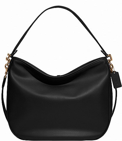 COACH Soft Tabby Leather Hobo Shoulder Bag