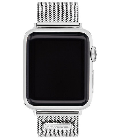 COACH Stainless Steel Mesh 38/40mm Band for Apple Watch®