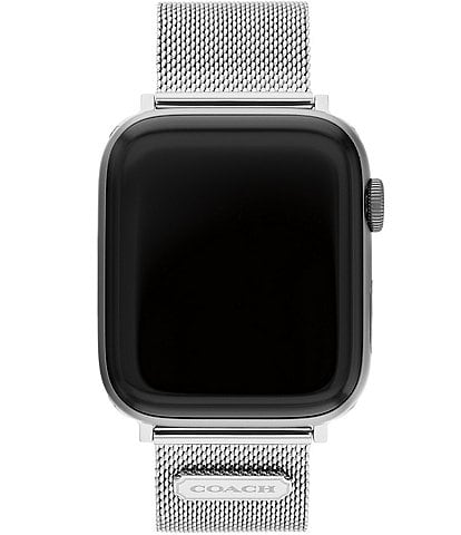 COACH Stainless Steel Mesh 42/44mm Band for Apple Watch®