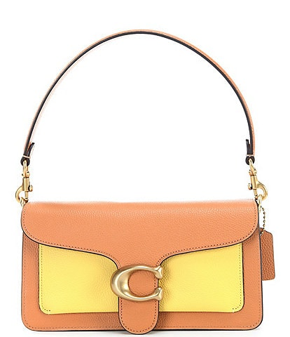 COACH Tabby Fold Colorblock Shoulder Bag